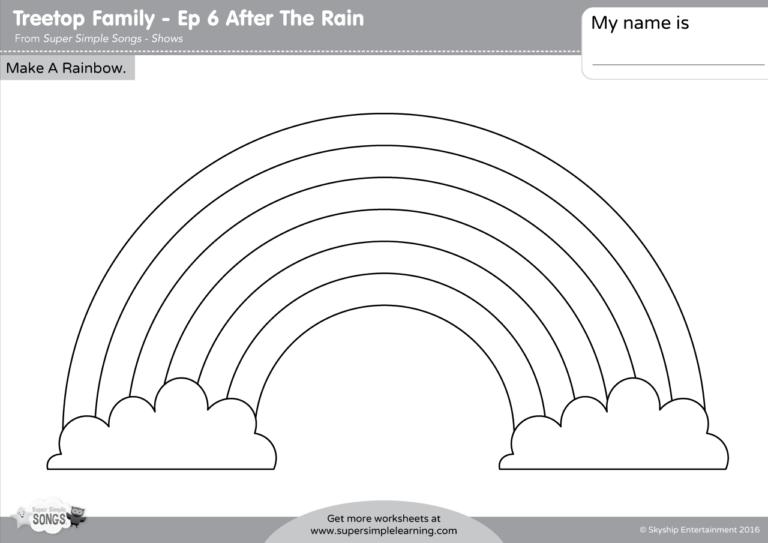 TREETOP FAMILY – MAKE A RAINBOW