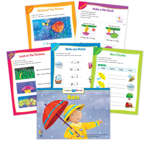 Rain Worksheets