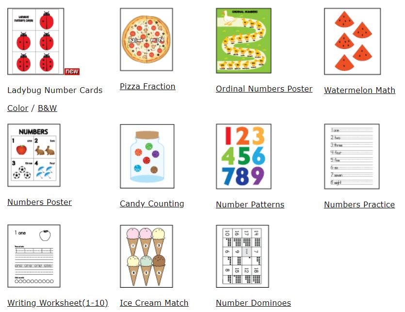 Numbers & Math