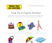 What Doesn't Go Together? Worksheet