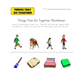What Doesn't Go Together? Worksheet 3