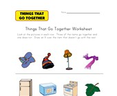 What Doesn't Go Together? Worksheet 4